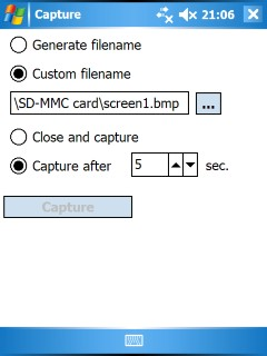 PDAcraft Capture screenshot