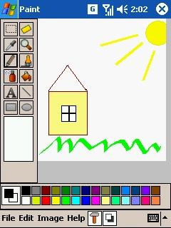 PDAcraft Paint for windows mobile
